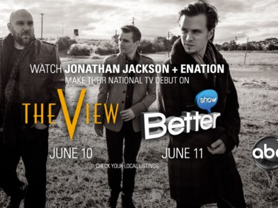 Jonathan Jackson + Enation - The View