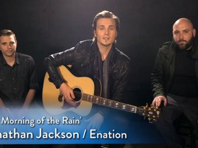Jonathan Jackson + Enation at AOL Entertainment
